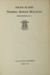 Rhode Island Normal School Catalog, 1914