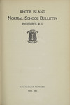 Rhode Island Normal School Catalog, 1915 by Rhode Island College