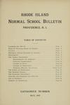 Rhode Island Normal School Catalog, 1917