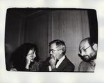 Ron Feldman and Unidentified Man and Woman