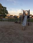 Blocked-off playground by Aryanna Pinheiro Machado