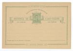 Portugal: Union Postale Universelle Provincia de Cabo-Verde by Bilhete Postal