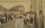 Bando precatorio na Avenida de Republica. S. Vicente, C. V.