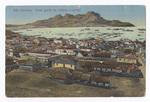 São Vicente. Vista geral da cidade e porto
