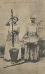 Mulheres preparando milho, S. Vicente, Cabo Verde by Bazar Central Fonucci & Frusoni
