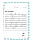 Dispatches from Kindergarten Felix