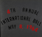 4th Annual International Ball May 8, 1964