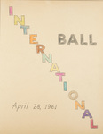 International Ball April 28, 1961 by International Institute of Rhode Island