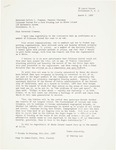 Resignation letter from Shirley Lee (March 6, 1962)