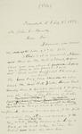 Letter to John C. Bundy, 1889-02-02