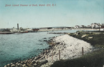 Block Island Steamer at Dock, Watch Hill, R.I.