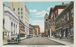 Main Street, Woonsocket, R.I. by American Art Postcard Co., Boston, Mass.