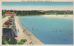 Beach, Goddard Park Potowomut, Warwick, R.I. by Berger Bros., Providence, R.I.