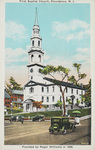 First Baptist Church, Providence, R. I. Founded by Roger Williams in 1638. by Berger Bros., Providence, R.I.