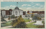 Panorama, showing Park and City Hall, Providence, R. I. by Berger Bros., Providence, R.I.