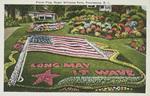 Floral Flag, Roger Williams Park, Providence, R. I. by Berger Bros., Providence, R.I.