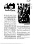 Rhode Music by John Taraborelli
