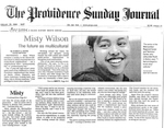 Misty Wilson The future as multicultural