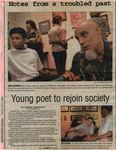 Young poet to rejoin society