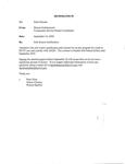 Sole Source Justification Memorandum