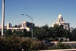 Rhode Island State House and Providence Station