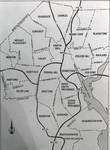 Map - Providence neighborhoods and highways by Chet Smolski