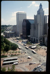 View of Kennedy Plaza, Burnside Park & Financial District