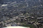 Aerial of Elmhurst and Wansuck neighborhoods