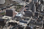 Aerial of Downtown Providence