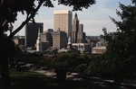 View of Downtown Providence from Prospect Terrace Park