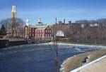 Pawtucket Slater Mill, City Hall & Blackstone Falls