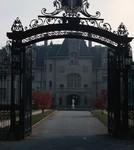 Newport: Ochre Court, Odgen Goelet House, Gate