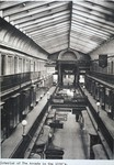 The interior of the Arcade in the 1930's
