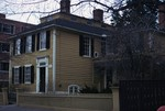 Historic James Burrough House 1818 #1