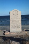 Trustrum Dodge Memorial - Block Island by Chet Smolski