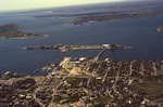 Aerial of Newport Harbor