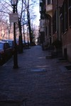 Boston: South End, Brick Sidewalk