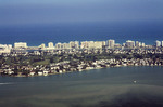 Miami Beach: Aerial Photograph of Oceanfront, Hotels