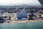 Miami Beach: Versailles Hotel Condo, Jamie Tuttle Causeway; Aerial View