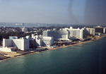 Miami Beach: Fontainebleau Hotel, Eden Roc Renaissance Hotel; Collins Ave.