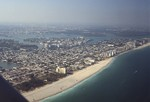 Miami Beach: Aerial Photograph, Oceanfront Looking North