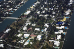 Miami Beach: Aerial View, Residential and Hotels; Carillon Hotel