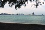 Miami: Skyline from Key Biscayne