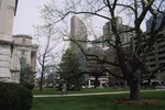 Indianapolis: One America Tower from State Capitol