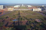Brasilia: East View from TV Tower, Government Buildings