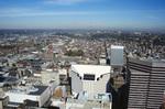 Cincinnati: Aerial, North View (Macy's Inc, Covenant First Presbyterian Church)