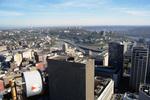 Cincinnati: Downtown Aerial, Chiquita Center (Columbia Plazza), Fifth Third Center