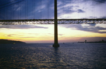 Lisbon: 25 de Abril Bridge at Sunset (Salazar Bridge)