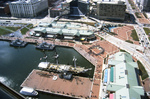 Baltimore: Inner Harbor, USS Constellation, Aerial