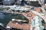 Baltimore: Inner Harbor, USS Constellation, Aerial